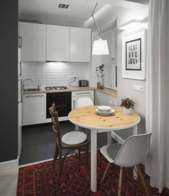 очень маленькая кухня фото дизайн советы